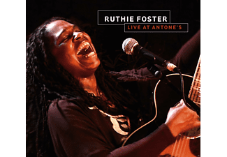 Ruthie Foster - Live At Antone's - (CD + DVD)