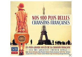 VARIOUS - 100 Chansons De Paris - (CD)