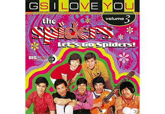 The Spiders - Let's Go Spiders: Gs I Love You 3 [CD]