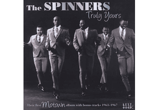The Spinners - Truly Yours-Their First Motown Album With Bonus - (CD)