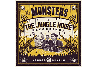 The Monsters - The Jungle Noise Recordings - (LP + Bonus-CD)