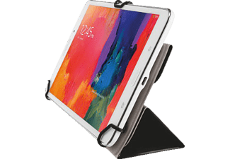 TRUST AEXXO Universal Folio Case For 7-8'' Tablets Black - (21067)