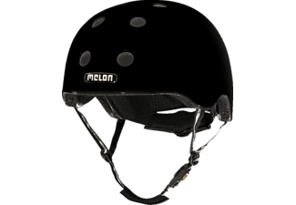 MELON Urban Active CLOSED EYES MATT M-L Fahrradhelm, Schwarz