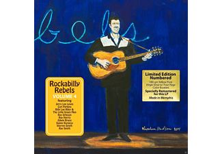 VARIOUS - Rockabilly Rebels Vol.4 [Vinyl]