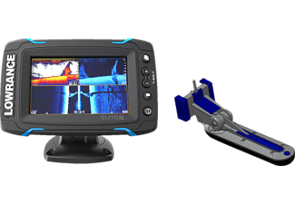 LOWRANCE LOWRANCE 000-12423-001 ELITE-5 TI MID/HIGH/TOTALSCAN Angeln, Sport