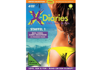 X-Diaries - Love, Sun & Fun, Staffel 1 [DVD]