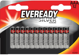 ENERGIZER F016421 Eveready Silver ΑAΑ 12 Pack