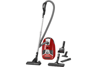 ROWENTA RO 6383 EA Silence Force Animal Care Pro Staubsauger mit Beutel, EEK: A, Rot
