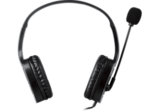 ISY IC-3001 Gaming-Headset Schwarz