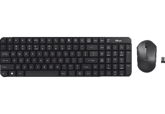 TRUST Modo Wireless Compact Dekset Keyboard With Mouse - (21278)