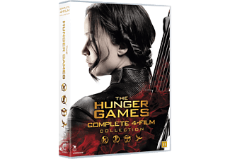 The Hunger Games - Alla 4 Filmerna DVD