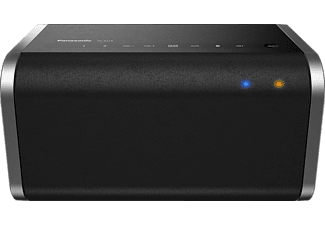 PANASONIC SC-ALL6, Streaming Lautsprecher, Schwarz