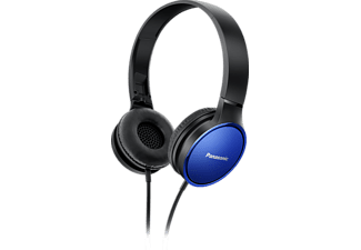 PANASONIC RP-HF300M, On-ear Kopfhörer, Blau