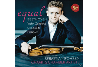 Sebastian Bohren, Chaarts Chamber Artists - Equal-Violin Concerto/Fantasia/Nonetto - (CD)