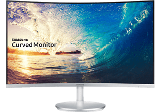 SAMSUNG LC27F591FDUXEN 27 Zoll Full-HD Monitor (1x HDMI, 1x 15pin D-Sub, 1x Display Port, 1x 3.5 mm Klinke Kanäle, 4 ms (GtG) Reaktionszeit)