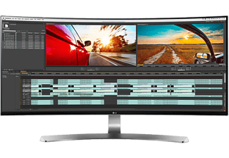 "LG Computerscherm Ultra Wide 34UC98-W 34"" WQHD IPS LED Curved"