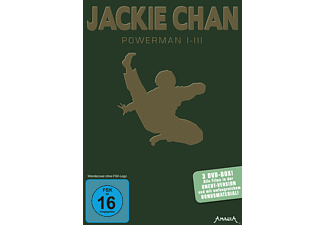 Jackie Chan - Power-Box - Powerman 1 - 3 [DVD]