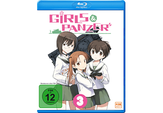 Girls und Panzer - Vol. 3 - (Blu-ray)