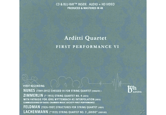 Arditti Quartet - First Performance Vi - (CD + Blu-ray Disc)