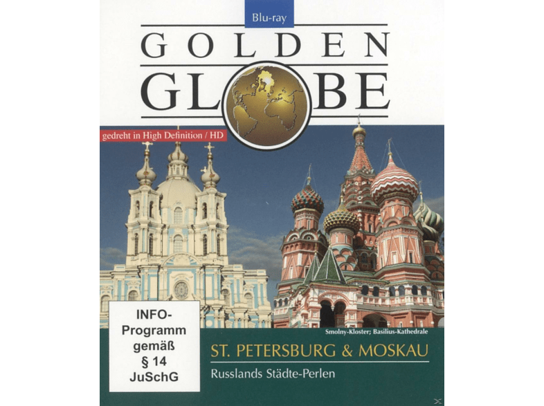 St.Petersburg & Moskau-Golden Globe [Blu-ray]
