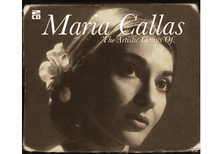 Maria Callas - The Artistic Genius Of Maria Callas - (CD)
