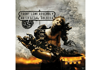 Front Line Assembly - Artificial Soldier (Cherry Coloured - (Vinyl)