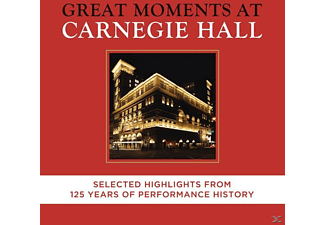 VARIOUS - Great Moments At Carnegie Hall-Selected Highligh - (CD)
