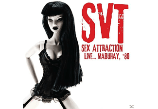 Svt - Sex Attraction Live... Mabuhay, '80 - (CD)