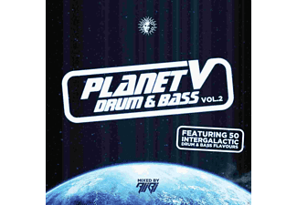 VARIOUS - Planet V-Vol.2 Drum & Bass- - (CD)
