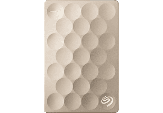 SEAGATE Backup Plus Ultra slim, 1 TB HDD, 2.5 Zoll, extern, Gold