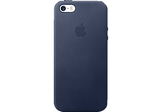 APPLE Leder Case Backcover Apple iPhone SE Leder Blau