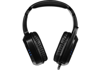 ISY IC-6001 5.1 , Gaming-Headset, Schwarz/Blau
