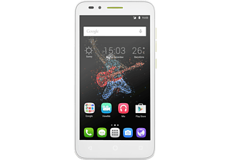 "Móvil - Alcatel One Touch Go Play, 8GB, pantalla 5"" HD, 1GB de RAM, blanco y naranja"