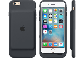APPLE MGQL2ZM/A Battery Case, passend für Apple iPhone 6s, Grau