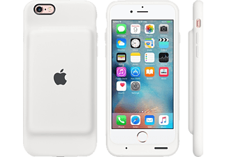 APPLE MGQM2ZM/A Battery Case, passend für Apple iPhone 6s, Weiß