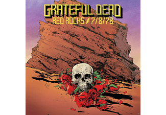 Grateful Dead - Red Rocks Amphitheatre, Morrison, Co 7/8/78 - (CD)