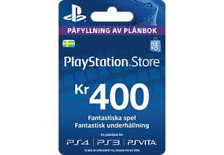 SONY TT PlayStation Live Card 400kr
