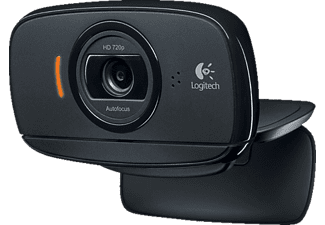 LOGITECH HD C525, Webcam, Schwarz