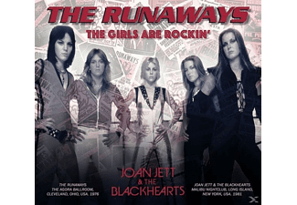 The Runaways, Joan & The Blackhearts Jett - The Girls Are Rockin' - Live 1976 & 1981 - (CD)
