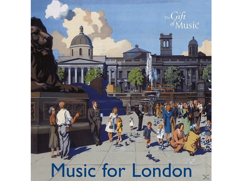 The Band Of The Welsh Guards, CHH Parry Harlow Chor - Music For London [CD]