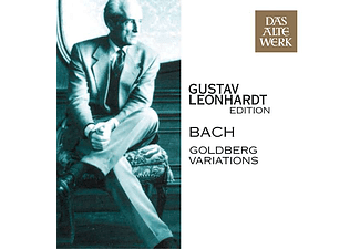 Gustav Leonhardt - Goldberg Variations (CD)