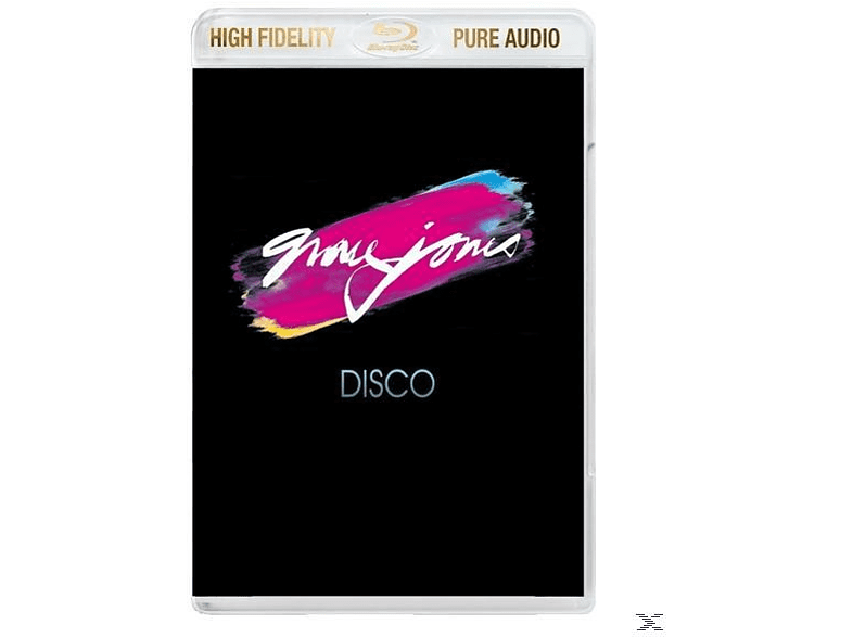 Grace Jones - Portfolio/Fame/Muse-The Disco Years Trilogy-Bd [Blu-ray Audio]