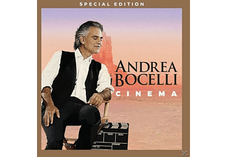 Andrea Bocelli - Cinema (Special Edition) - (CD + DVD Video)