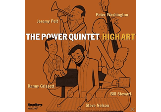 The Power Quintet - High Art - (CD)