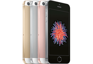 "Móvil - iPhone SE de 16 GB, con red 4G, pantalla retina de 4"" y cámara de 12 mp, Oro rosa"