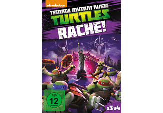 Teenage Mutant Ninja Turtles Rache - (DVD)