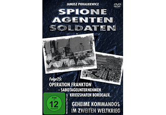 Spione-Agenten-Soldaten (25) - Operation, Fraktion... - (DVD)