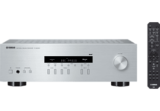 YAMAHA R-S202D, Stereo-Receiver, Silber