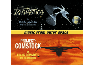 Russ & His Orchestra Garcia, Frank & His Orchestra Comstock - Fantastica/Project Comstock - (CD)