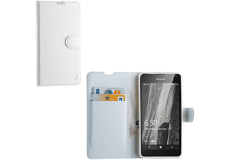"VOLTE-TEL Θήκη Microsoft Lumia  650 5.0"" Leather-Tpu Book Stand White VL (5205308159428)"